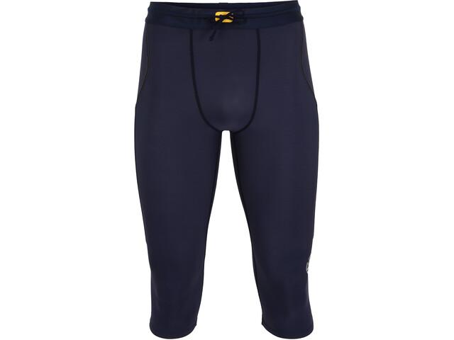 Skins Series-3 3/4 Thermal Tights Men navy blue